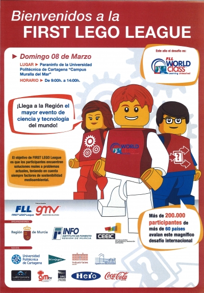 FIRST LEGO League llega a la Región de Murcia